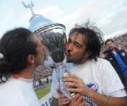 Alvaro Recoba Nacional vittoria campionato 2012