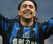 Recoba in Inter Lazio 3-1