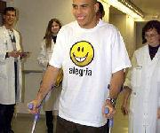 Operazione Ronaldo dopo infortunio