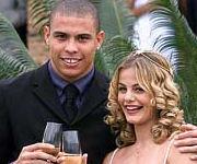 Nozze Ronaldo e Milene Domingues