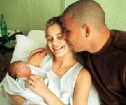 Ronald, figlio Ronaldo e Milene Dominguez