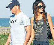 Raica Oliveira e Ronaldo