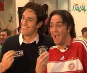 Luca Toni e Matze Knop imitatore Numero 1