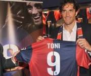 Luca Toni Genoa Calcio 2010 2011