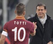Francesco Totti e Rudi Garcia Roma 2014