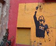 Murales Francesco Totti Roma Rione Monti