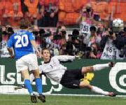 Cucchiaio Totti nella semifinale Italia-Olanda, Europei 2000