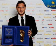 Francesco Totti Golden Foot 2010