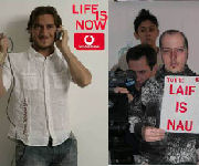 Totti spot Vodafone: Life is now - Laif is nau