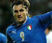 Christian Vieri Italia nazionale italiana calcio